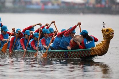 Đoàn VĐV Hong Kong quyết vô địch Lễ hội Bơi chải thuyền rồng Hà Nội