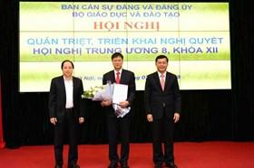 Ông Lê Hải An giữ chức Bí thư Đảng ủy Bộ Giáo dục và Đào tạo