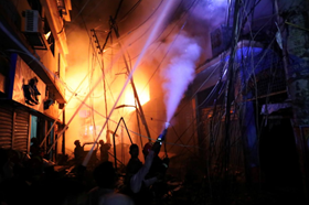 Cháy lớn ở thành phố trăm tuổi, ít nhất 56 người thiệt mạng