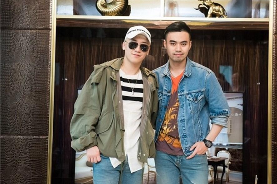 Seungri (trái) và Denis Đỗ - thiếu gia nhà Tân Hoàng Minh.