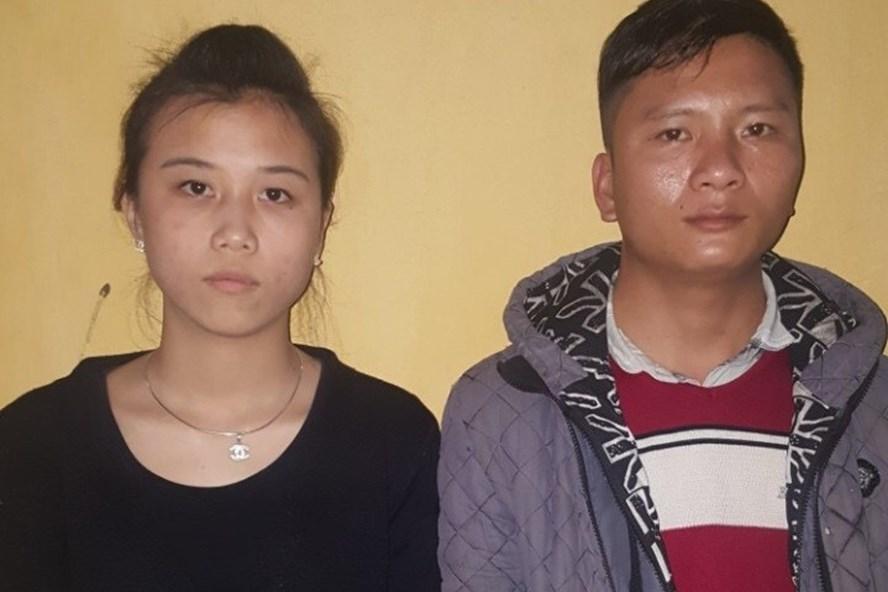 Hai đối tượng tổ chúc cho 23 người trên đường xuất cảnh trái phép sang Trung Quốc bị cac lực lượng chức năng phát hiện. Ảnh: BQN