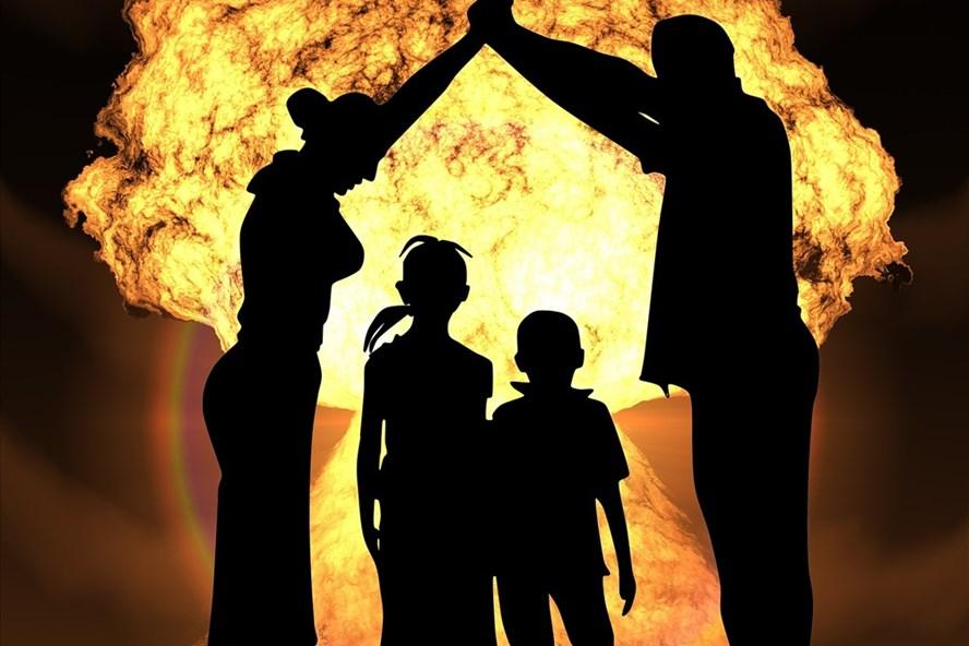 Hãy bảo vệ con người khỏi vũ khí hạt nhân và chiến tranh hạt nhân (ảnh: othrwords.org).