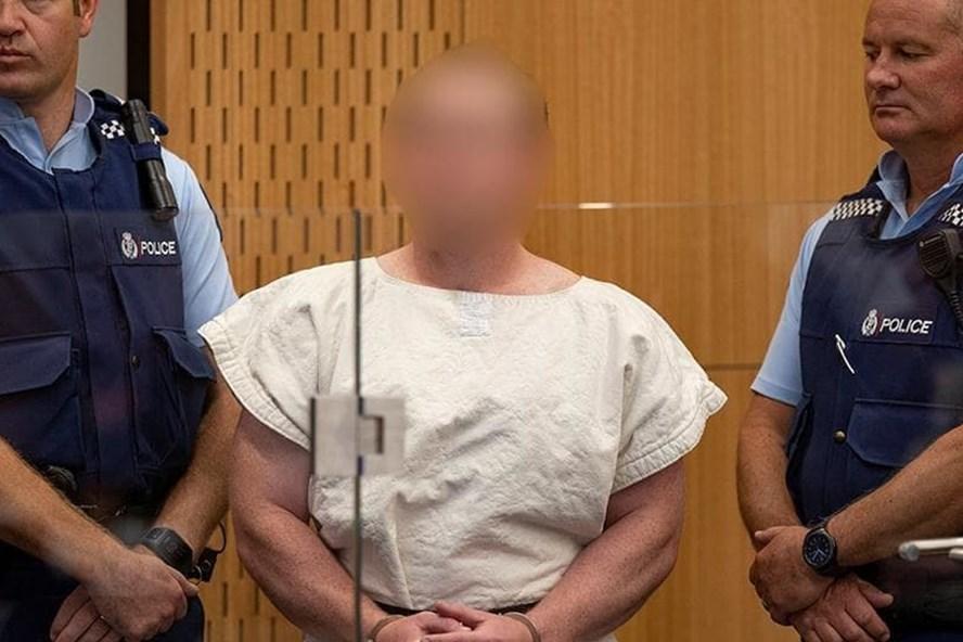 Nghi phạm xả súng New Zealand ra hầu tòa ngày 16.3. Ảnh: Telegraph