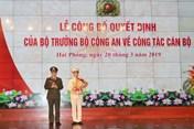 Đại tá Lê Ngọc Châu là tân Giám đốc Công an Hải Phòng
