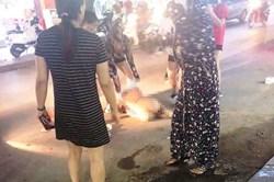 Vụ cô gái bị lột quần áo giữa đường: 3 người tham gia lĩnh án