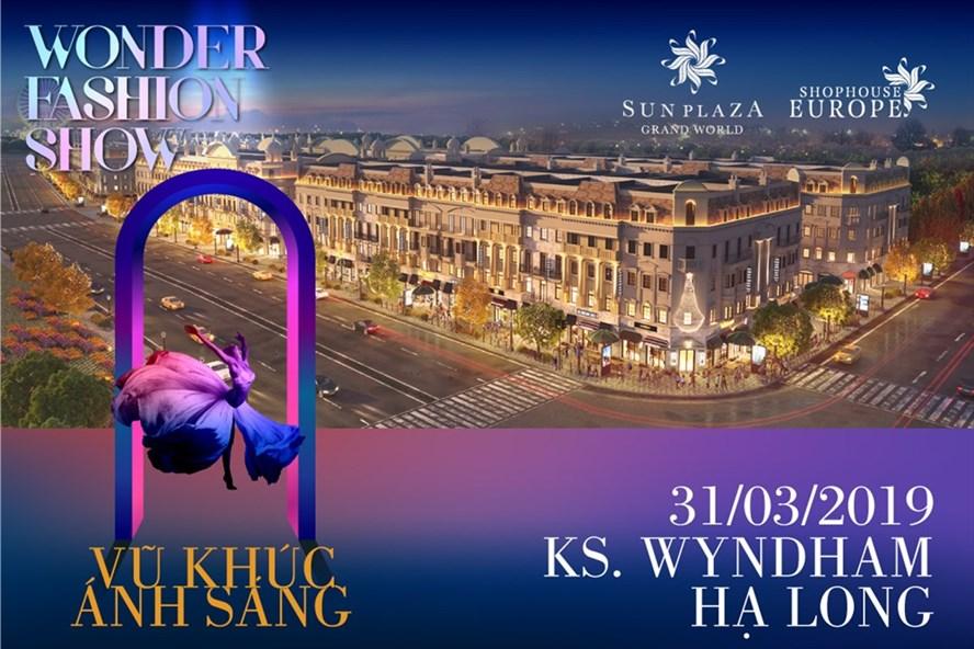 Wonder Fashion Show by Chung Thanh Phong - Vũ khúc ánh sáng. Ảnh: P.V
