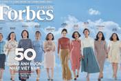 Tạp chí Forbes công bố danh sách 50 phụ nữ ảnh hưởng nhất Việt Nam