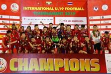 U19 Việt Nam và hành trình kỳ diệu vô địch giải U19 quốc tế 2019