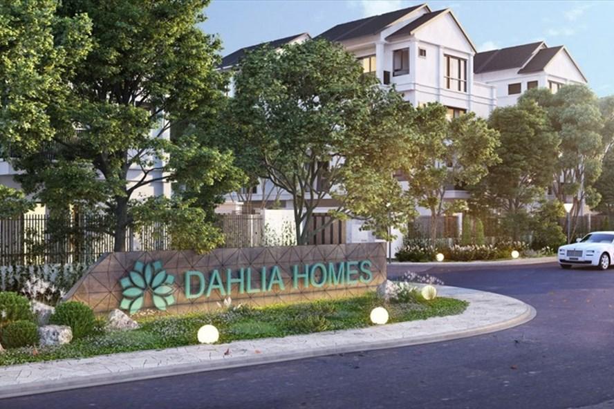 Chỉ từ 2,7 tỉ đồng, khách hàng có thể sở hữu liền kề Dahlia Homes. Ảnh: NSM