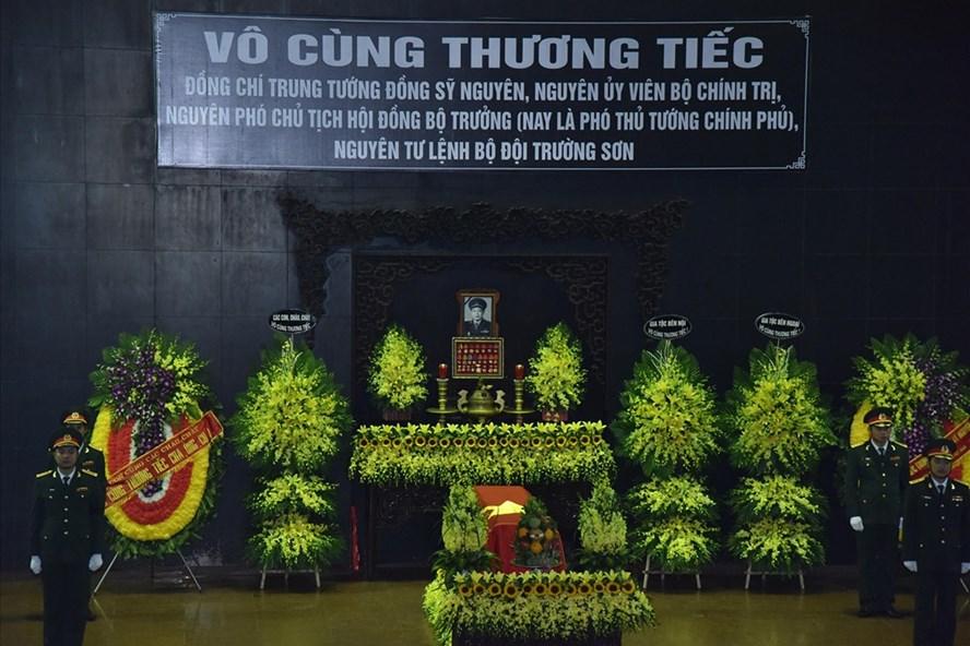 Tổ chức Lễ tang đồng chí Đồng Sỹ Nguyên theo nghi thức Lễ tang cấp Nhà nước. Ảnh VGP