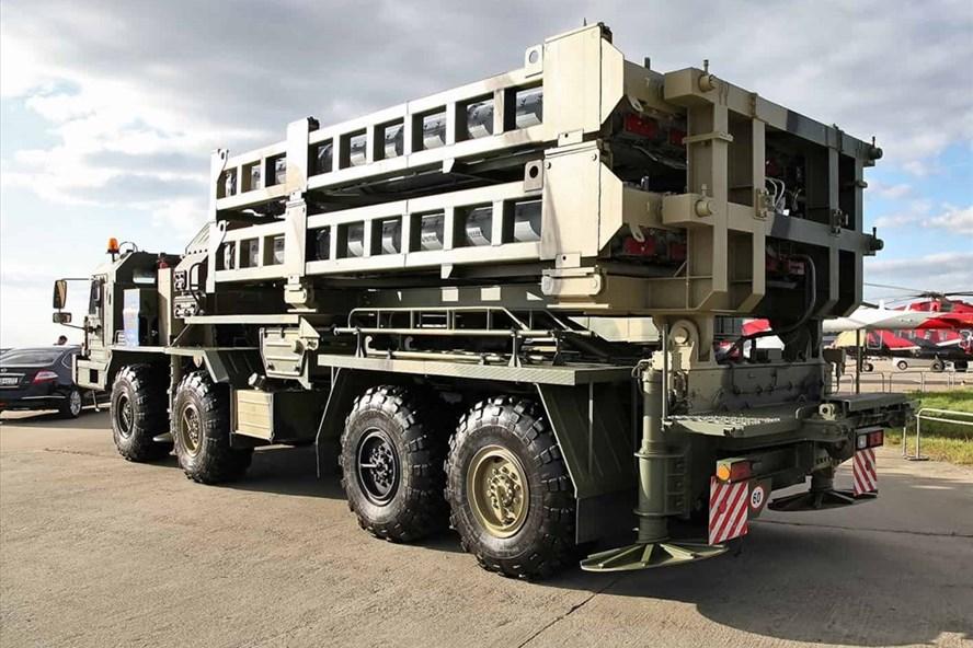 Hệ thống phòng không S-350 Vityaz. Ảnh: Defence-blog