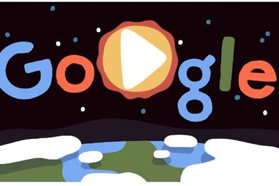 Google Doodle kỷ niệm Ngày Trái đất. Ảnh: Google Doodle
