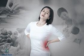 Đau lưng sau sinh mổ ở phụ nữ và cách trị một đi không trở lại