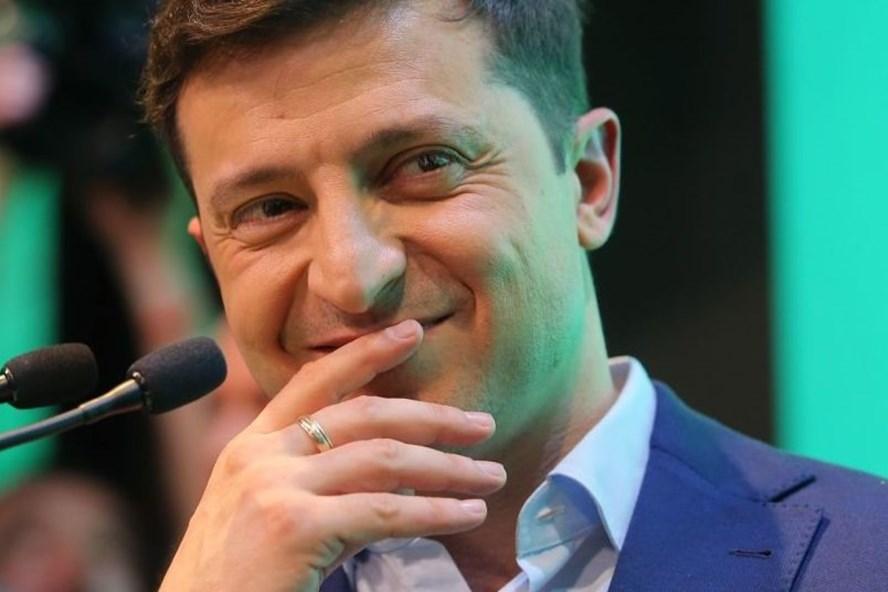 Tổng thống đắc cử Ukraina Volodymyr Zelensky. Ảnh: Sputnik