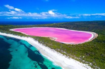Giải mã hồ nước màu hồng bí ẩn