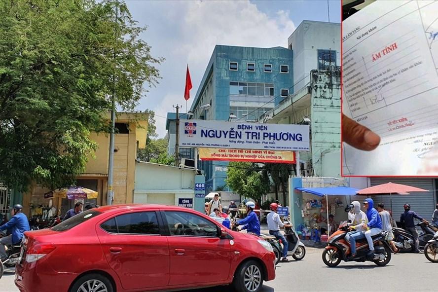 Một số đối tượng làm giả con dấu, giấy khám sức khỏe của Bệnh viện Nguyễn Tri Phương (quận 5, TPHCM).