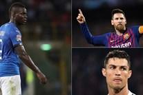 Ngưỡng mộ Messi, Balotelli cười nhạo vào mũi Ronaldo