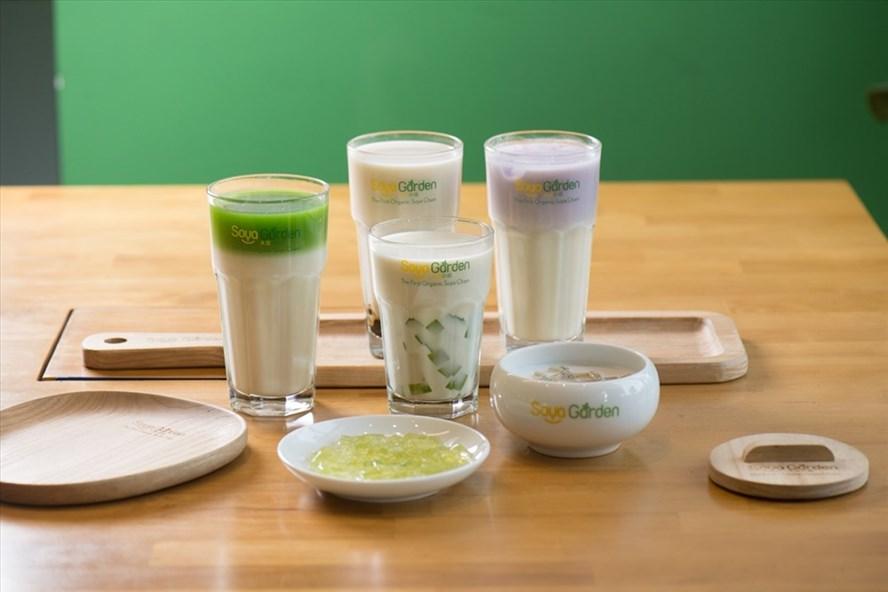 Sữa đậu nành tại Soya Garden thơm ngon mà lại có lợi cho sức khỏe.