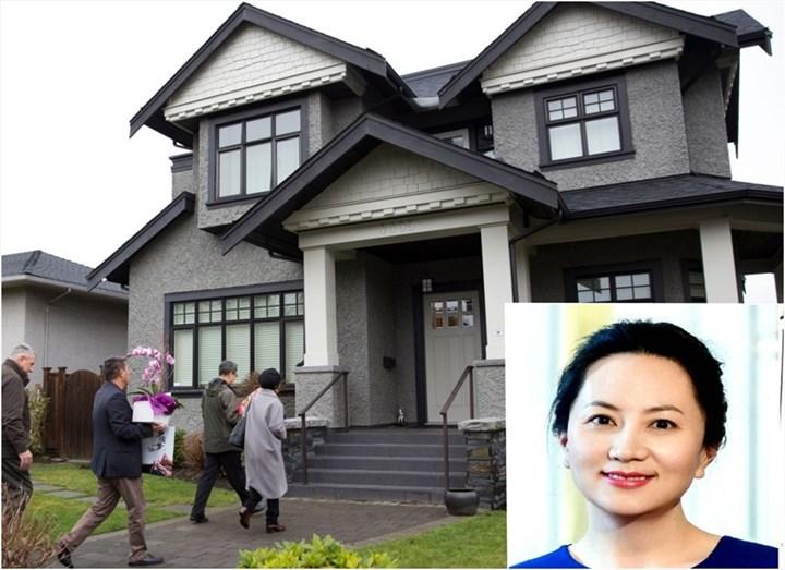 Hé lộ biệt thự triệu USD ở Canada mà ái nữ tỷ phú Huawei bị quản thúc