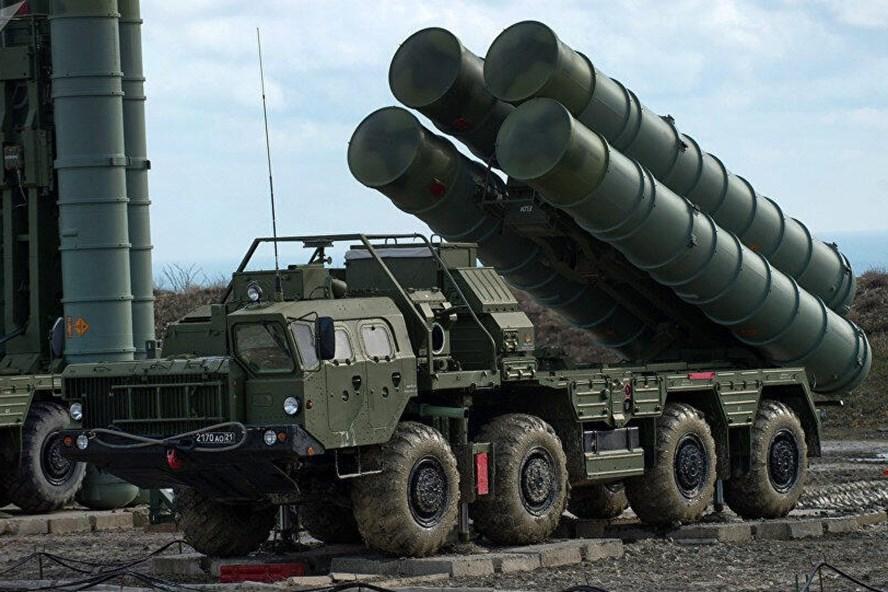 Hệ thống phòng không S-400 của Nga. Ảnh: Sputnik