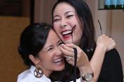 Hồng Nhung và tình bạn đáng ngưỡng mộ với Hoa hậu Hà Kiều Anh