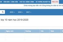 Cách tra cứu điểm thi vào lớp 10 năm 2019 tại Nam Định