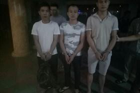 Thanh Hóa: Bắt 3 đối tượng người Trung Quốc trộm két sắt