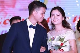 Ấn tượng lễ cưới tập thể của 18 cặp đôi công nhân lao động
