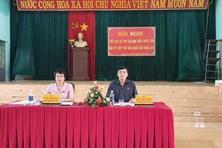 Ủy viên TƯ Đảng, Chủ tịch Tổng LĐLĐVN Bùi Văn Cường tiếp xúc cử tri tại huyện Chư  Pưh, tỉnh Gia Lai