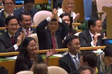 Việt Nam trúng cử Hội đồng Bảo an Liên Hợp Quốc với số phiếu gần tuyệt đối 192/193 phiếu