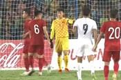 Loạt pha giải nguy của Bùi Tiến Dũng ở trận U23 Việt Nam gặp U23 Myanmar
