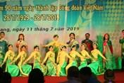 500 đoàn viên tham gia hội diễn chào mừng thành lập CĐ Việt Nam
