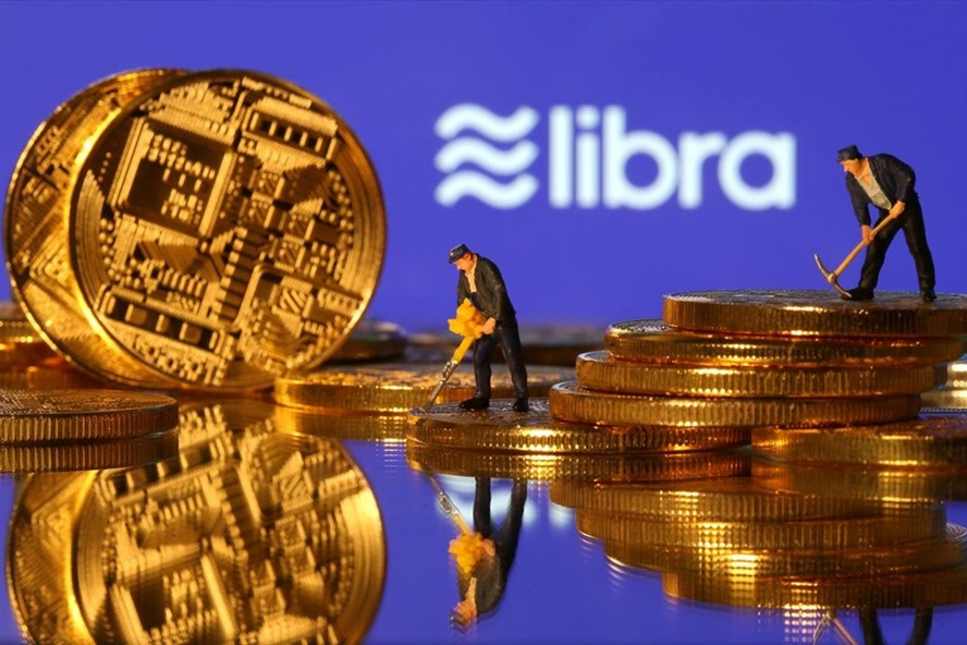 Kế hoạch phát hành tiền ảo Libra vấp phải sự phản đối của G7. Ảnh: Reuters