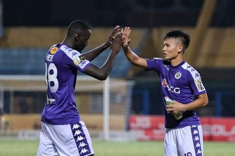 Highlights: Quang Hải dứt điểm quyết đoán, Hà Nội FC xuất sắc hạ Sài Gòn