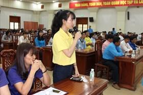 Tiền Giang: Sôi nổi đối thoại giữa Chủ tịch tỉnh với CNLĐ và cán bộ CĐ