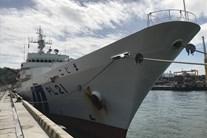 Cận cảnh tàu huấn luyện bảo vệ bờ biển của Nhật thăm Đà Nẵng