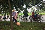 Người dân vẫn ngăn không cho xe vào bãi rác Nam Sơn
