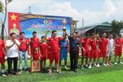 Thái Bình: LĐLĐ huyện Đông Hưng tổ chức giải bóng đá thanh niên CNVCLĐ