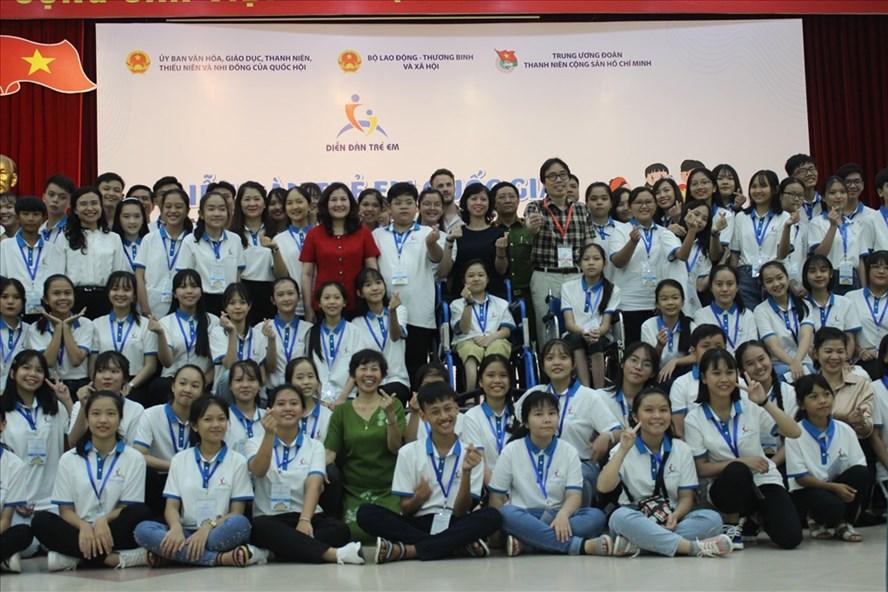 169 trẻ em tham gia Diễn đàn trẻ em quốc gia lần thứ 6.