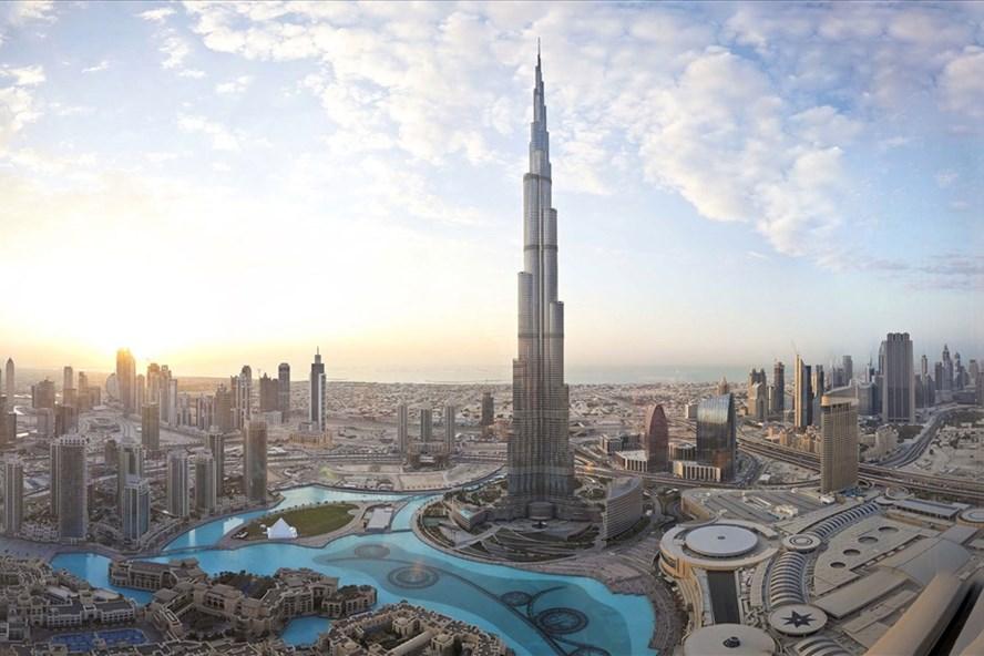 """""""Thành phố thẳng đứng"""" Burj Khalifa - Biểu tượng văn minh không còn xa lạ. Ảnh: HDMon"""