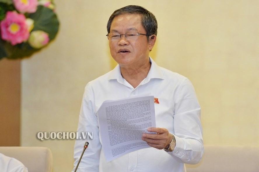 Phó Chủ tịch Quốc hội Đỗ Bá Tỵ. Ảnh Quochoi.vn