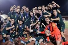 """""""Đòi nợ"""" Malaysia, U18 Australi vô địch giải Đông Nam Á 2019"""