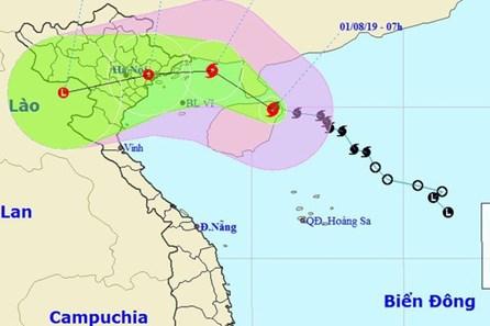 Infographic: Đường đi lắt léo của bão số 3 sắp đổ bộ Quảng Ninh - Nam Định