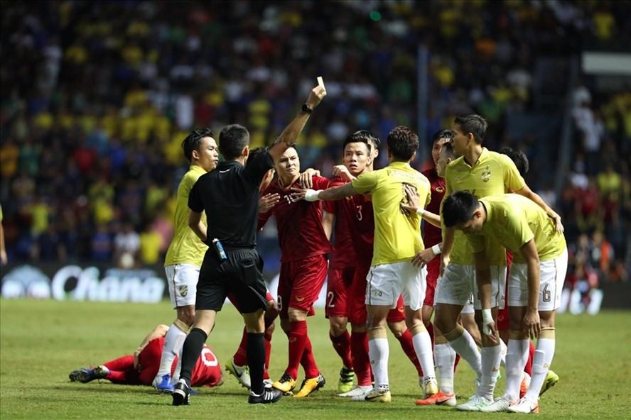 Trận đấu giữa Việt Nam và Thái Lan nhận được nhiều sự chú ý. Ảnh: Đ.Đ