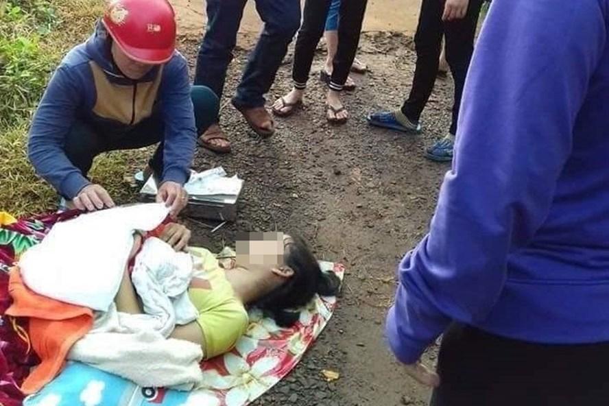 Sản phụ Vy Thị Yến bị tài xế bỏ giữa đường (ảnh: Facebook)
