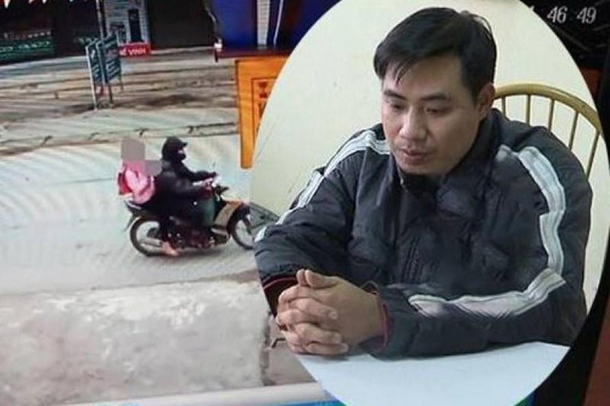 Công an Hà Nội bắt tạm giam đối tượng Nguyễn Trọng Trình xâm hại cháu gái 9 tuổi ở Chương Mỹ vào tháng 3.2019 Ảnh: PV