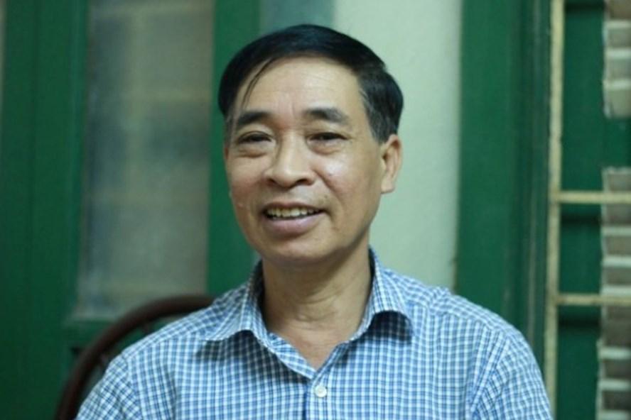 PGS.TS Phạm Văn Tình - Tổng Thư ký Hội Ngôn ngữ học Việt Nam. Ảnh: NVCC