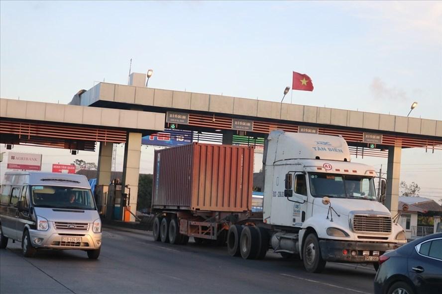 """Dự kiến vào cuối năm nay, phương tiện đi trên tuyến cao tốc TP HCM - Trung Lương sẽ không còn được """"miễn phí"""". Ảnh Huân Cao"""