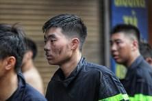 Hà Nội: Cháy lớn tại cửa hàng bán nội thất trên đường La Thành