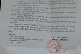 Sở Y tế Bắc Ninh lên tiếng về vụ việc bé 3 tuổi bị bỏ quên trên ôtô